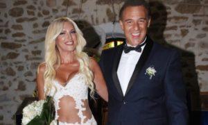 Θάνος Τζάνης: Παντρεύτηκε την αγαπημένη του στο Λαγονήσι