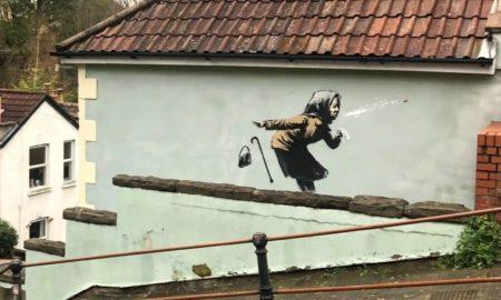 Νέο έργο του Banksy ανεβάζει κατακόρυφα την αξία ενός σπιτιού