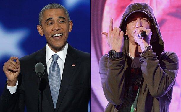 Ο Μπαράκ Ομπάμα τραγουδάει EMINEM και γίνεται viral