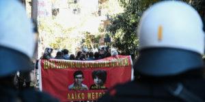 Επέτειος δολοφονίας Γρηγορόπουλου: Προσαγωγές και επεισόδια στα Εξάρχεια