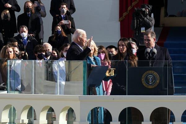 Ο Τζο Μπάιντεν ορκίστηκε-«Αυτή είναι η μέρα της Δημοκρατίας»