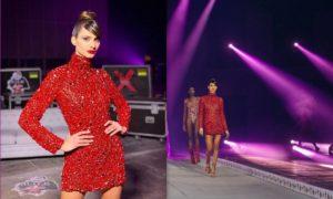 MadWalk 2020: Η εντυπωσιακή πασαρέλα της Ηλιάνας Παπαγεωργίου, φορώντας Celia Kritharioti Couture