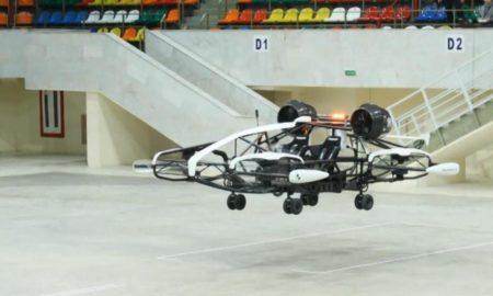 Το πρώτο ρωσικό ταξί-drone παρουσιάστηκε στη Μόσχα (Vid)