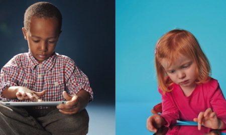 Οθόνες αφής: Ίσως επηρεάζουν την ικανότητα προσοχής στα παιδιά