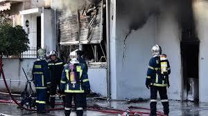 Περιστέρι: Φωτιά σε φανοποιείο