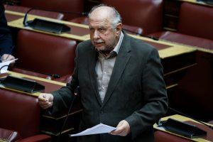 Σκουρολιάκος για Λιγνάδη: «Δεν τον διόρισα εγώ χωρίς διαγωνισμό στο Εθνικό Θέατρο»