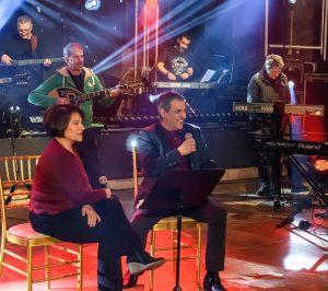 """Θέμης Αδαμαντίδης - Πίτσα Παπαδοπούλου: Mαζί σε ένα """"Ηχογράφημα Αγάπης"""""""
