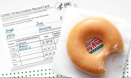 Αμερική: Η πρωτοβουλία για δωρεάν ντόνατς σε όποιον έχει κάρτα εμβολιασμού
