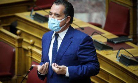 ΣΥΡΙΖΑ για Άδωνι Γεωργιάδη: «Οι περιορισμοί ισχύουν μόνο για τους πολίτες υπό την απειλή πρόστιμων ή ξυλοδαρμού;»