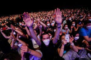 Βαρκελώνη: Συναυλία με 5.000 θεατές - Ένα πείραμα που ανοίγει το δρόμο και σε άλλες μουσικές εκδηλώσεις;