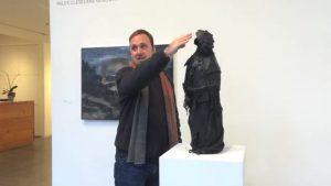 Kορονoϊός: Ένας καθηλωτικός πίνακας ζωγραφικής αποτυπώνει την ασφυξία της πανδημίας