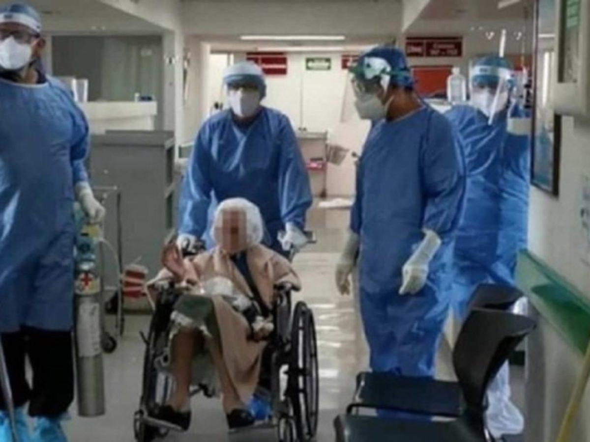 Θεσσαλονίκη: Ηλικιωμένη 103 ετών νίκησε τον κορονοϊό και πήρε εξιτήριο από το νοσοκομείο