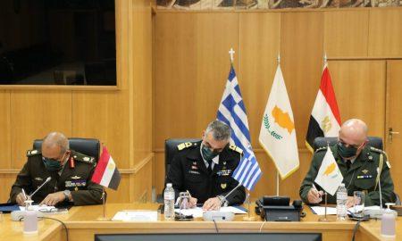 Ελλάδα: Μια νέα συμμαχία ύστερα από την υπογραφή διμερούς στρατιωτικής συνεργασίας με την Αίγυπτο