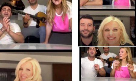 Το Live της Ελένης Μενεγάκη με τη Νατάσα Θεοδωρίδου έγινε viral