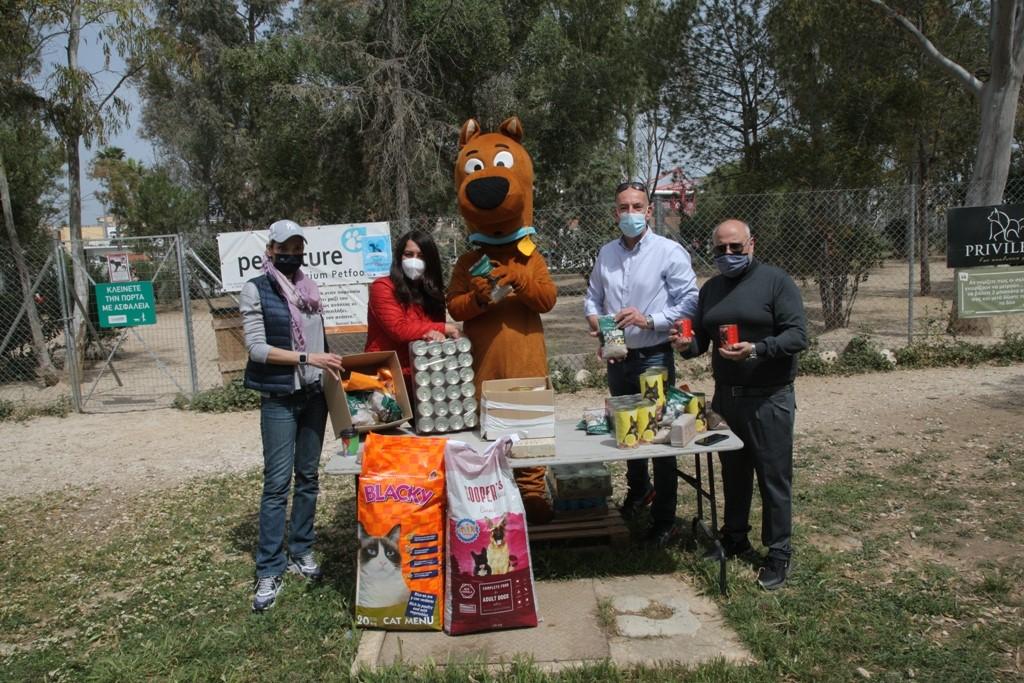 Δήμος Πειραιά: Η εξαιρετική πρωτοβουλία συγκέντρωσης τροφίμων για αδέσποτα ζώα