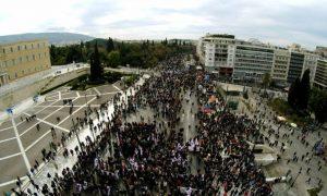 Απεργία της 6ης του Μάη: Μαζική συμμετοχή των εργαζομένων στο Σύνταγμα για το νομοσχέδιο κατάργησης του 8ωρου