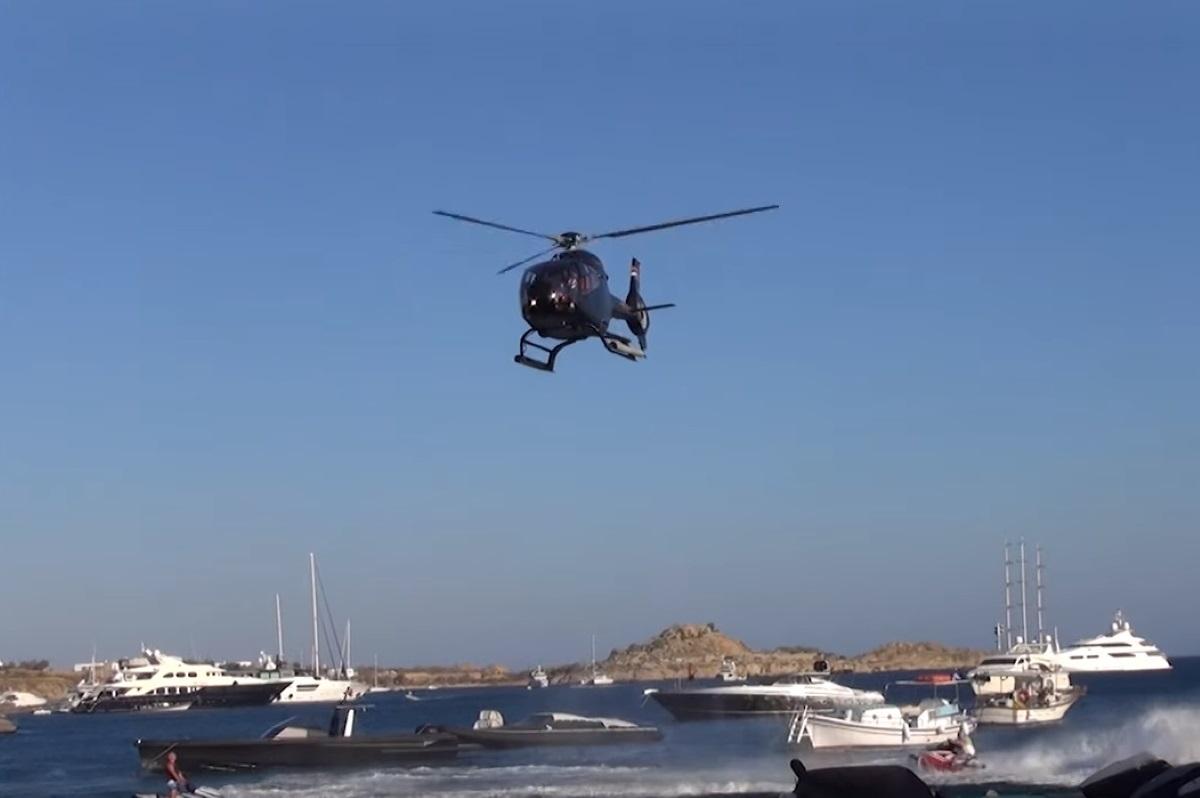 Απόδραση του Πάσχα: Νοικιάζουν ιδιωτικά ελικόπτερα για να αποφύγουν τα μπλόκα της αστυνομίας