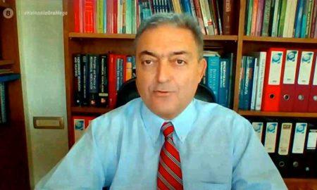 Βασιλακόπουλος: «Χειρότερο μήνυμα για την κοινωνία δεν υπάρχει από το ότι 18% των υγειονομικών γιατρών δεν έχει εμβολιαστεί»